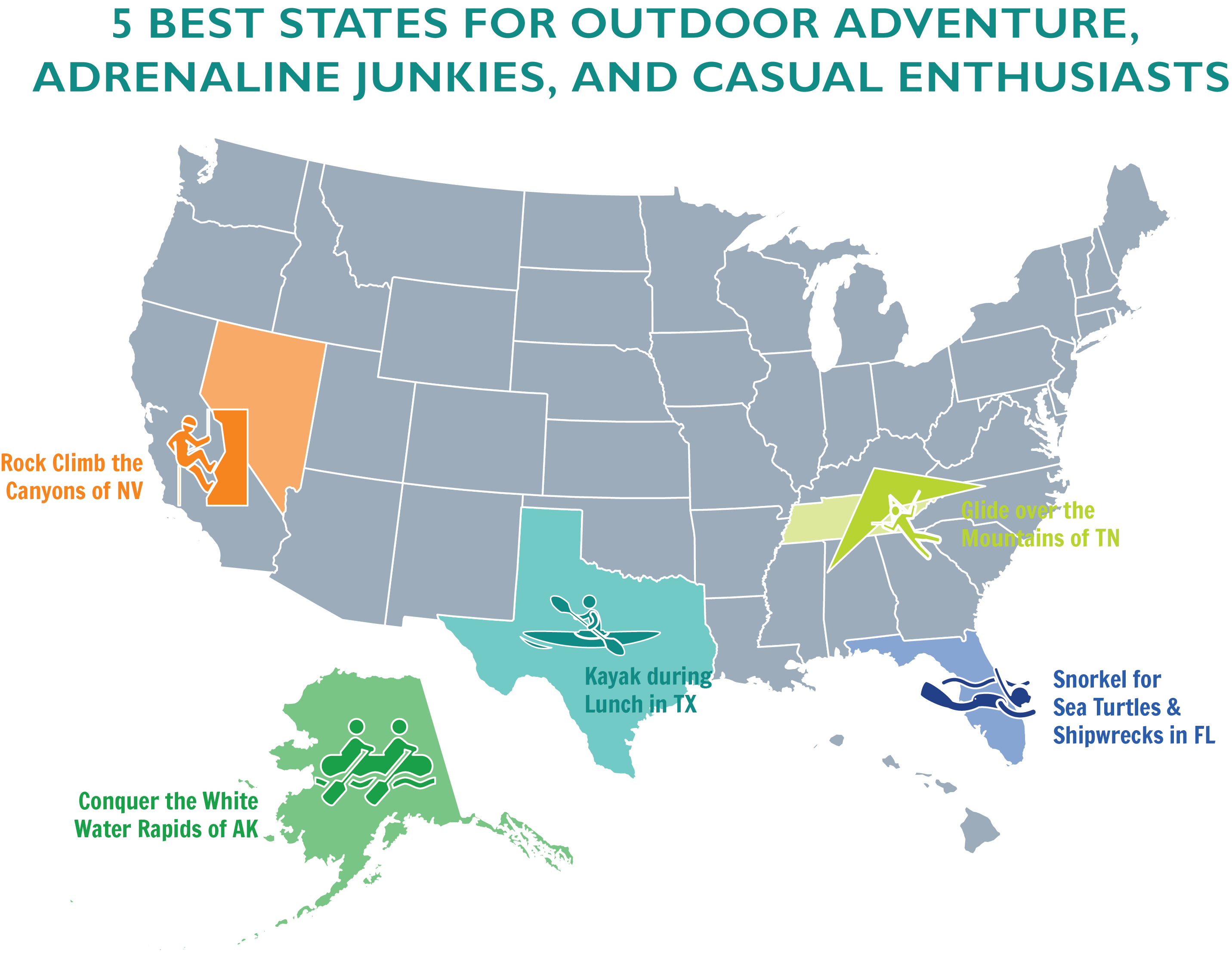 the 5 best states for outdoor adventure adrenaline junkies and casual enthusiasts how money walks how 2 trillion moved between the states a book by