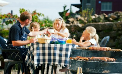 """Family, barbecue, eat, eating, cooking, meal, """"barbeque grill"""", garden, party, """"garden party"""", meat,"""