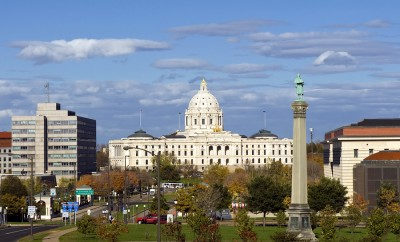 Minnesota State Capitol building, Saint Paul, Minnesota, USA