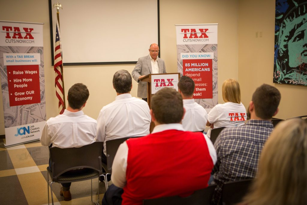 Louisville Kentucky – Tax Cuts Now Bus Tour – Day 2