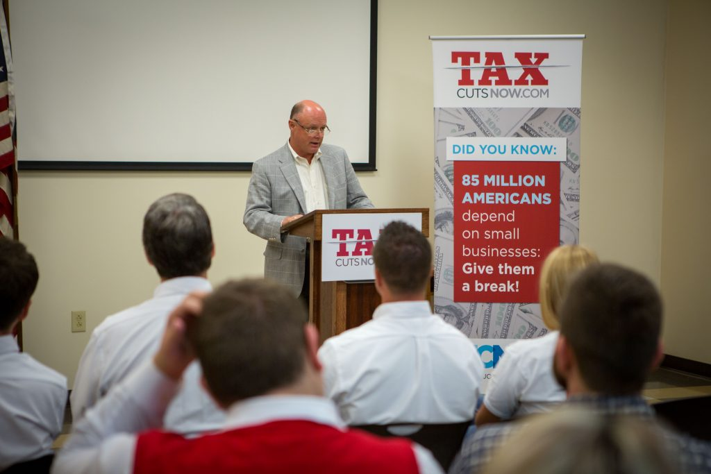 Louisville Kentucky – Tax Cuts Now Bus Tour – Day 2